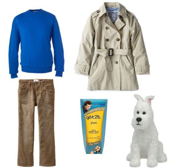 Tintin costume