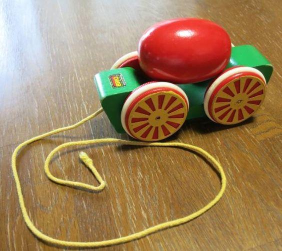 Toys 中古BRIOブリオ卵 車プルトイ 木のおもちゃ 知育 北欧 インテリア 雑貨 家具 Modern ¥500yen 〆08月05日