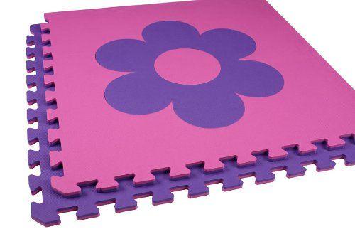 Flooring Tiles EVA Interlocking 2 39 X2 39 Mats Baby Infant Toddler 12 Til