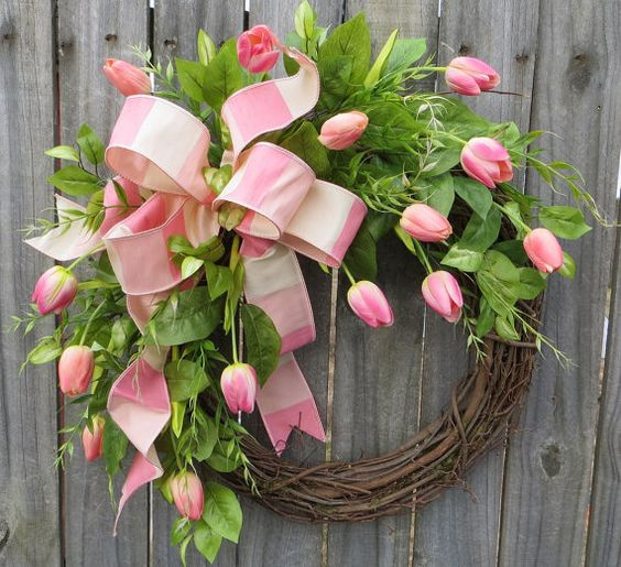 20 Spring and Easter Wreaths you can purchase right now on Actually Ashley Blogs: