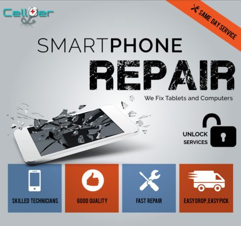 Cell Er Phone Repair Has A Low Price Match Guarantee On Repairs With Local Repair Shops In Housto Smartphone Repair Cell Phone Repair Shop Mobile Shop Design