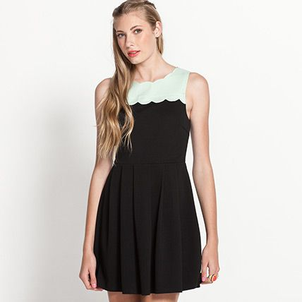 Scallop Bodice Dress from Dotti