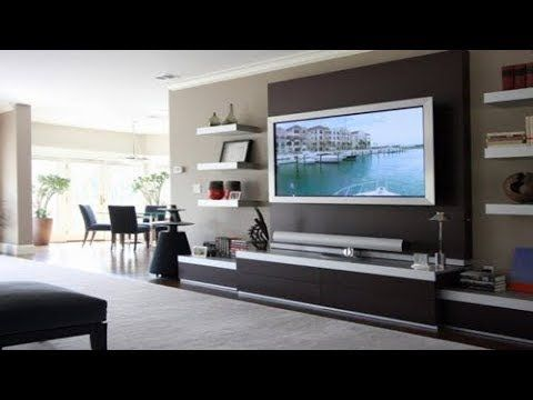 Tv Cabinet Designs For Living Room India Tv Cabinet On Wall Modern Tv Unit Design Ideas Youtube Living Room Tv Unit Living Room Tv Living Room Tv Wall