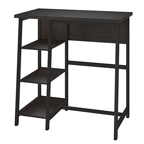 Ameriwood Home 9872096com Coleton Standing Desk Standing Desk Shelves Desk Shelves