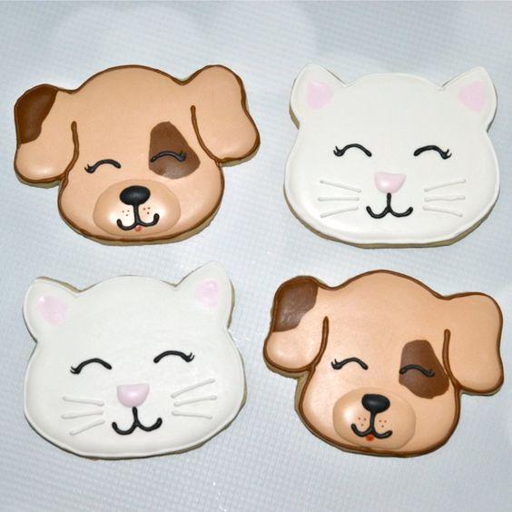 dog & cat cookies