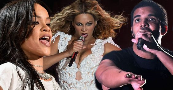 Drake, Rihanna and Beyonce lead the nominations