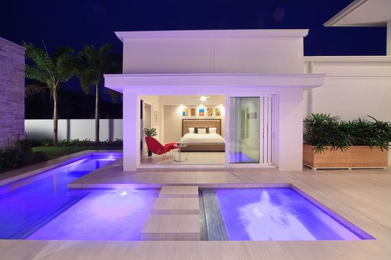 Master bedrooms the o 39 jays and pools on pinterest Bedroom swimming pool design