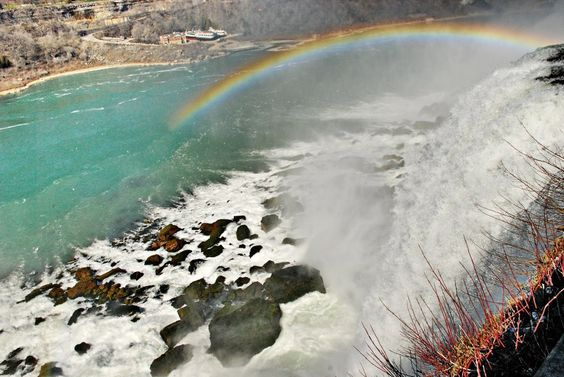 Images of rainbows from all over the world taken by EarthSky's Facebook friends. Beautiful! Niagra Falls. Photo credit: Bob Lennartz