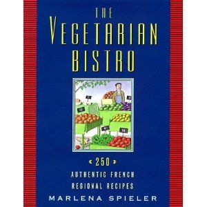 The Vegetarian Bistro: 250 Authentic French Recipes (This book is full of fresh, light meals taken from village bistros and cafes all over France. It's not your typical vegetarian cookbook that adapts meat dishes; these dishes were vegetable-based to begin with!) #vegetarian