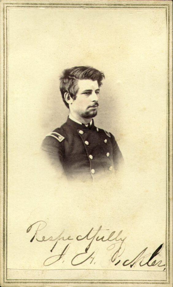 John A. Pickler Iowa cdv: