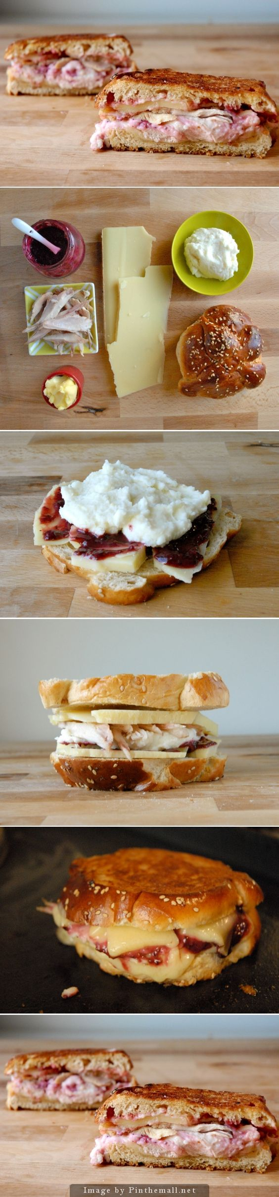 What to do with Thanksgiving Leftovers! This grilled cheese has turkey ...