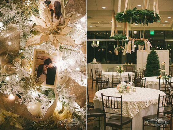 Winter delight wedding. Elegant  Vista at Cedar Hills