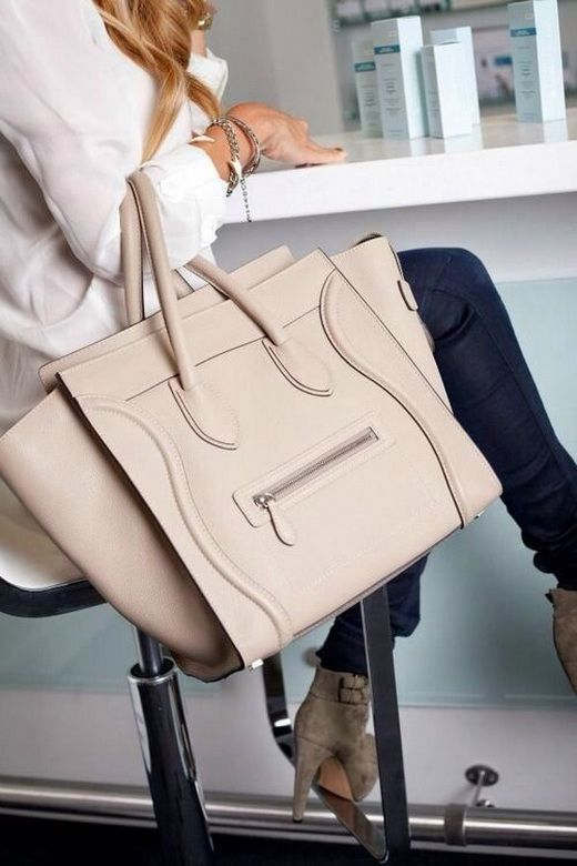 celine cabas phantom bag - Fashion inspiration...the many shades of nude | Celine Bag, Celine ...