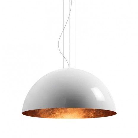 Brink V-merk Torremato Torremato Sunset, hanglamp Hanglamp wit