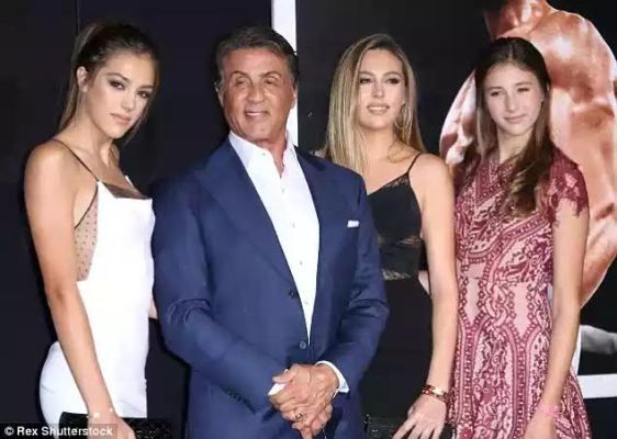 Mabel Naija's Blog (MNB)                                                      : celebrity news: Sylvester Stallone Wteps out With ...