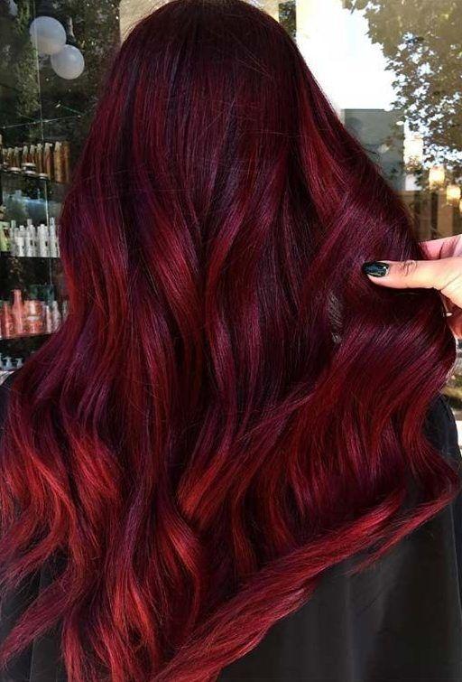 19 Cute Hair Colours To Get Perfect Combo Cute Hair Colours Let S Start With The Fac Capelli Colorati Capelli Castani Con Riflessi Rossi Colore Capelli Mogano