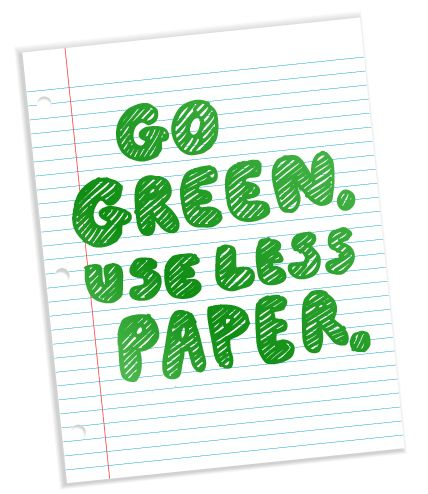 essay on going paperless is eco friendly Go paperless with amazing microsoft crm solutions data in form of papers to go paperless and eco – friendly benefits of going paperless.