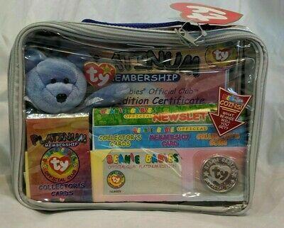 Sealed 1999 TY Beanie Babies PLATINUM MEMBERSHIP OFFICIAL CLUB KIT