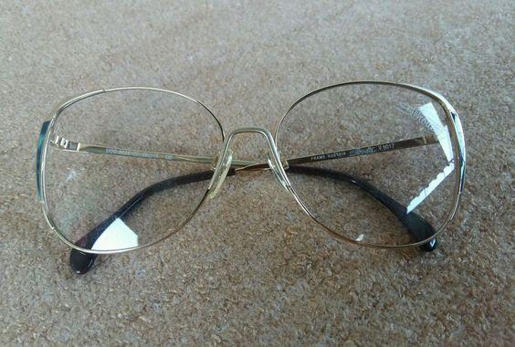 Vintage NEW NOS SILHOUETTE MOD 6028 /20 V6017 metal Eyeglasses Frame Austria #Silhouette