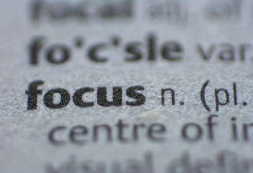 constant focus, practice and discipline