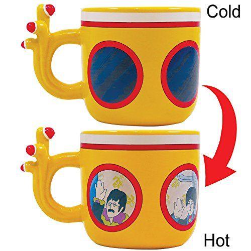 Beatles Yellow Submarine Morphing Mug - John, Paul, George & Ringo Shaped Cup The Unemployed Philosophers Guild http://www.amazon.com/dp/B00NAFQEDO/ref=cm_sw_r_pi_dp_aqOmub1WT2BRV