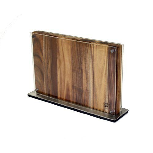 Amazon.com: Schmidt Brothers Cutlery, SCIDBSS, Downtown Block, Wood Display Block with Metal Base: Kitchen & Dining
