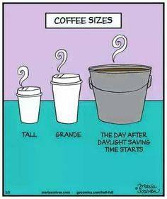 coffee daylight savings time:
