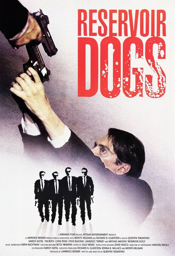 Reservoir Dogs (1992): Dogs Poster, Movies Posters, Cinema Tv, Movie Poster, Dogs 1992, Dogs Movie, Tv Movie, Favorite Film