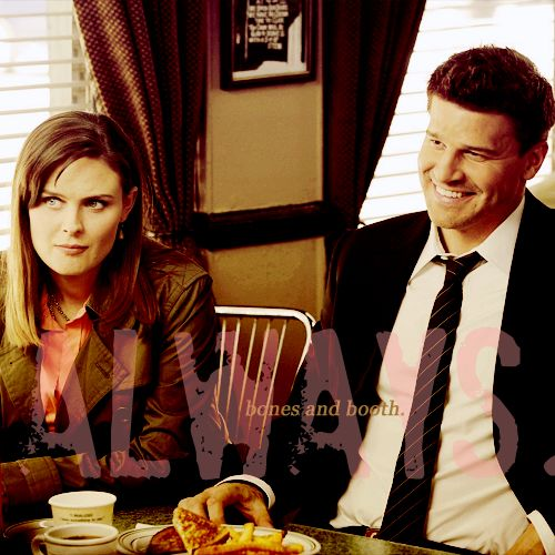 when do bones and booth first hook up