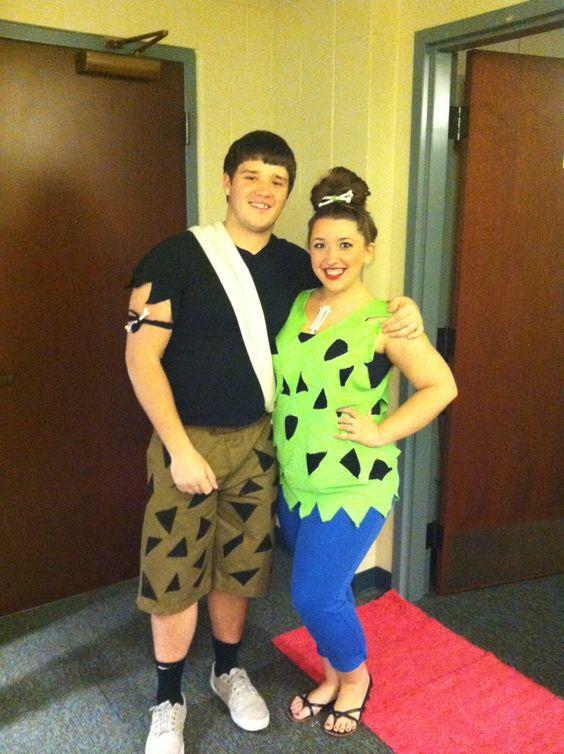 BamBam & Pebbles! #halloween #costume