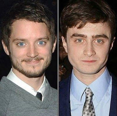 No wonder I had a thing for Radcliffe... although Elijah is cuter :P :