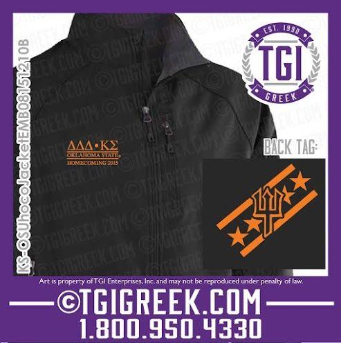 TGI Greek - Kappa Sigma - Delta Delta Delta - Jacket - Greek Wear #kappasigma #deltadeltadelta #tgigreek