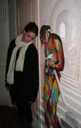 Anna with Arlecchino