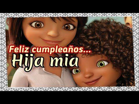 Felicitaciones Hija Querida En Tu Cumpleanos Feliz Cumpleanos Hija Mia Para Ti Hija Querida Youtube Youtube Birthday Cards Happy Birthday
