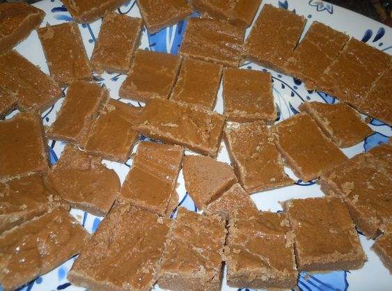 Leche Quemada recipe - Remember that candy they put in the bottom of the chips basket at Monterey House?  I LOVED that stuff.  I gotta try this!