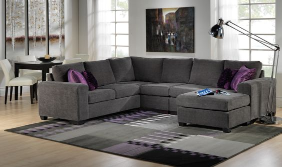 Danielle Upholstery Collection Leons gt 3 Pc Sectional