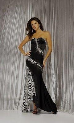 zebra wedding dress? I&-39-d wear it to the LEM Ball! - My Style ...