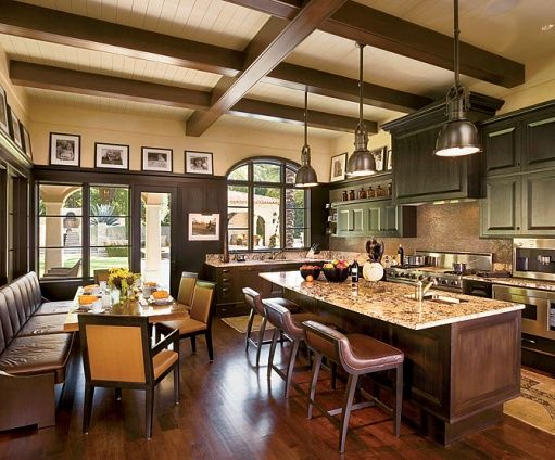a cook's kitchen