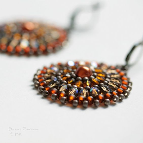 Handbeaded Earrings