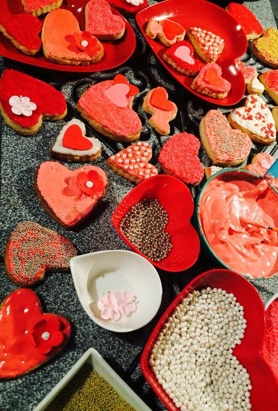 Galletas de San Valentín 2016