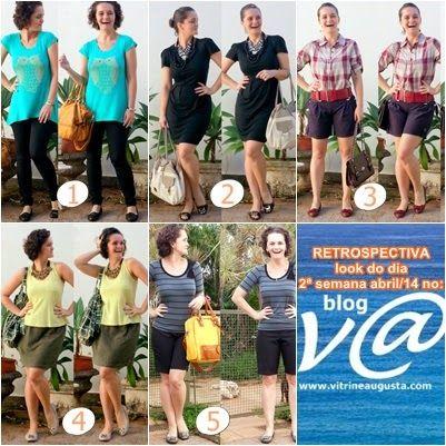 blog v@ LOOKS | por leila diniz: RETROSPECTIVA look do dia da 2ª semana mês de abri...