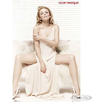 Kylie Minogue Poster White Dress Hier bei www.closeup.de