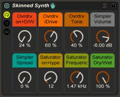 """FREE """"Skinned Synth"""" Live Pack"""