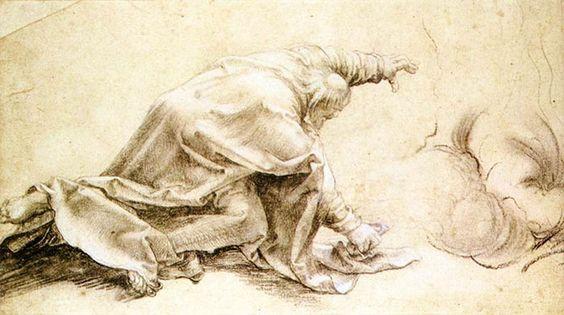 Matthias Grünewald (1470-1528гг) An Apostle from the Transfiguration