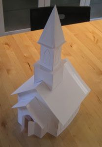 Templates for a LOT of different gingerbread houses. Oh My! Let your imagination go wild. Gingerbread Church