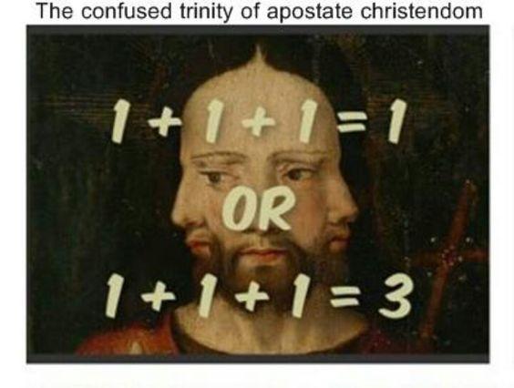 The falseness of the trinity doctrine