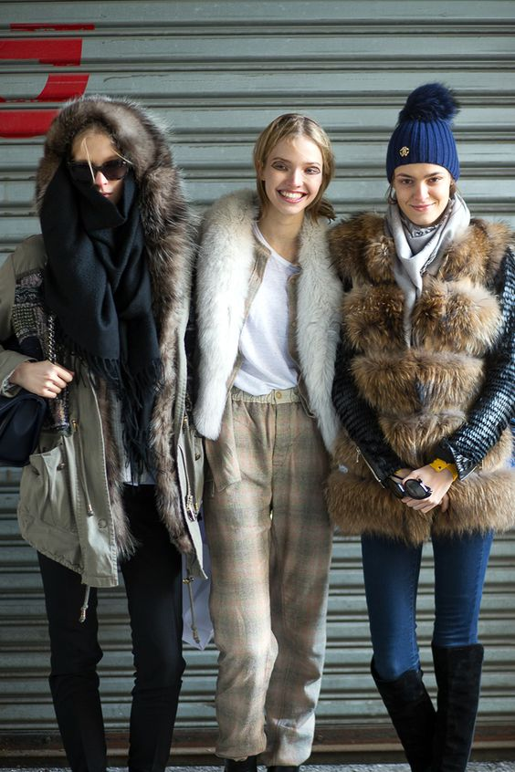 The Best New York Fashion Week Street Style: Fall 2015  - HarpersBAZAAR.com