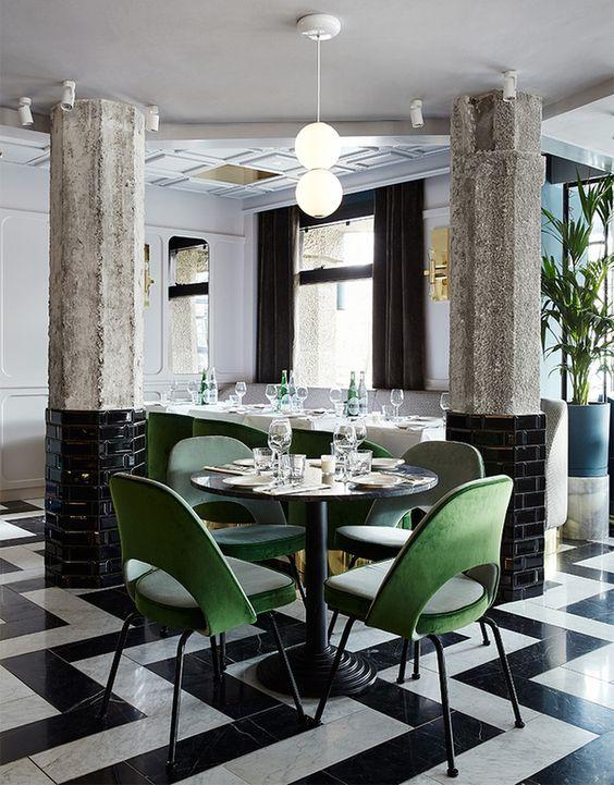 дизайн итальянского ресторана