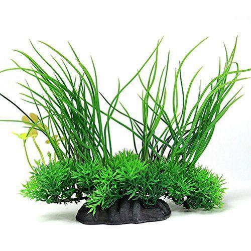 GuangLiu Plantas Acuario Naturales Plantas de Acuario Artificial de Las Plantas del Acuario Plantas Artificiales para peceras Acuario Plantas Artificiales 1pc