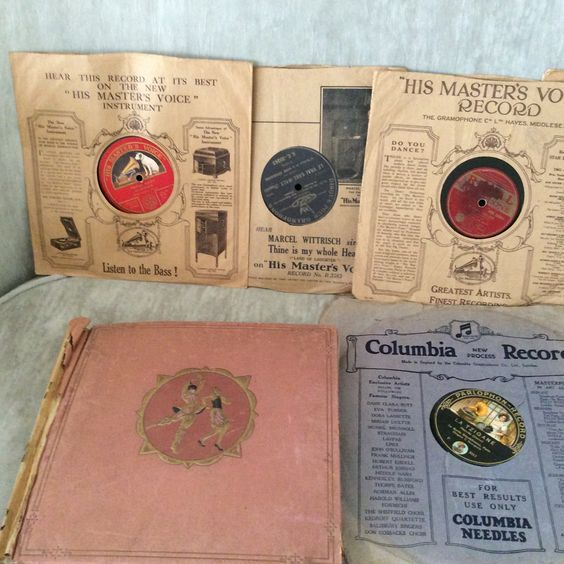 Discos de Gramofone